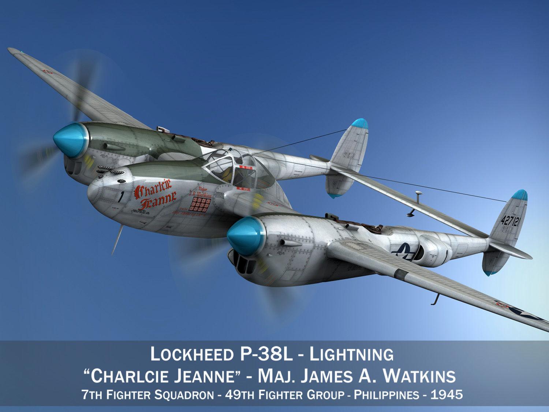 Lockheed P-38 Lightning - Charlcie Jeanne
