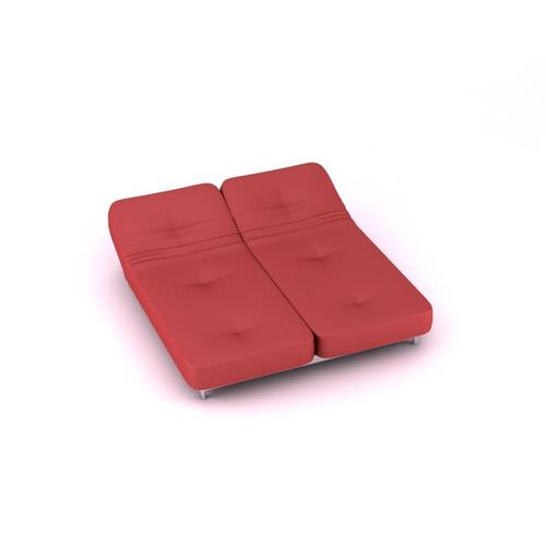 Futon Couch And Bed3D model
