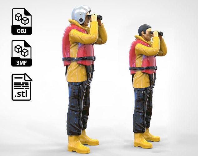 N3 Lifeboat Crew Volunteer RNLI Rescue crew