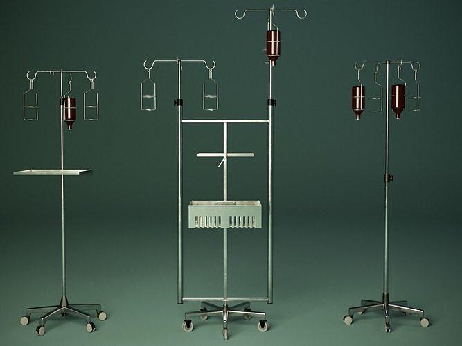 Medical tripod PBR