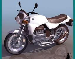 BMW K100 MOTORCYCLE 3D Model