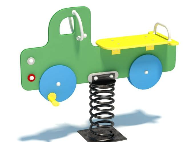 Playground Spring Truck3D model