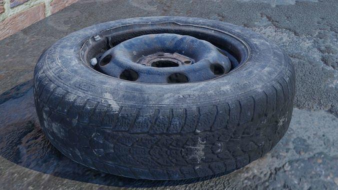 3D scanned tires