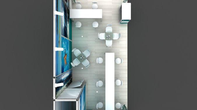 exhibition 2012 3d model  1
