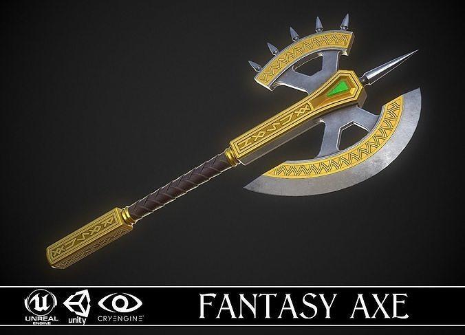 Fantasy Axe 04A