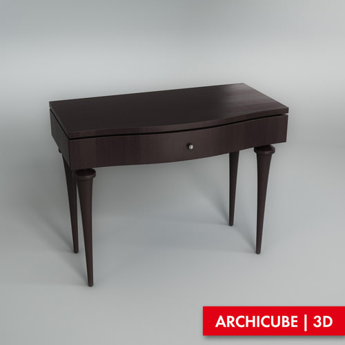 Console Table3D model