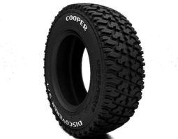 LT tire Cooper Discoverer S-T 3D Model