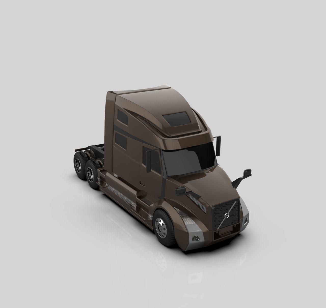 volvo vnl 860 truck