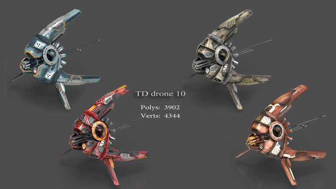 tower defense pack 3d model low-poly max obj fbx mtl tga 12