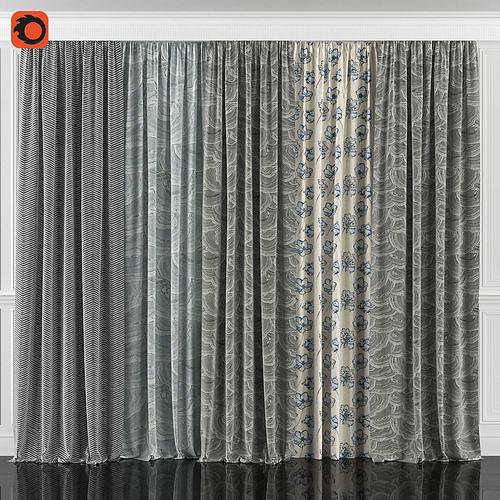 Curtain Set 76C