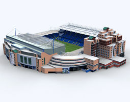 3d stamford bridge stadium