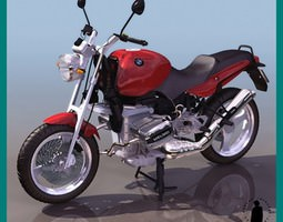 BMW 1100 R MOTORCYCLE 3D Model