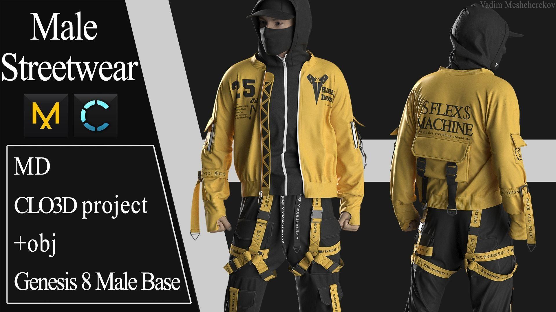 Male Streetwear 1