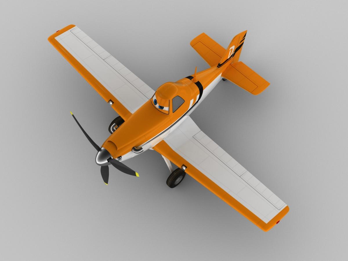 dusty crophopper 3d model max obj 3ds fbx c4d lwo