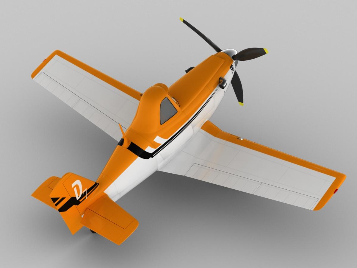 dusty crophopper 3d model max obj 3ds fbx c4d lwo lw lws