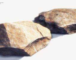 35 Rock Models For Mobile Games VR / AR ready