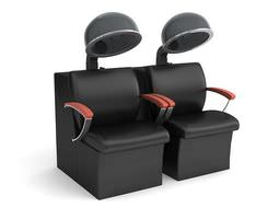 Beauty Parlour Chair 3D Model