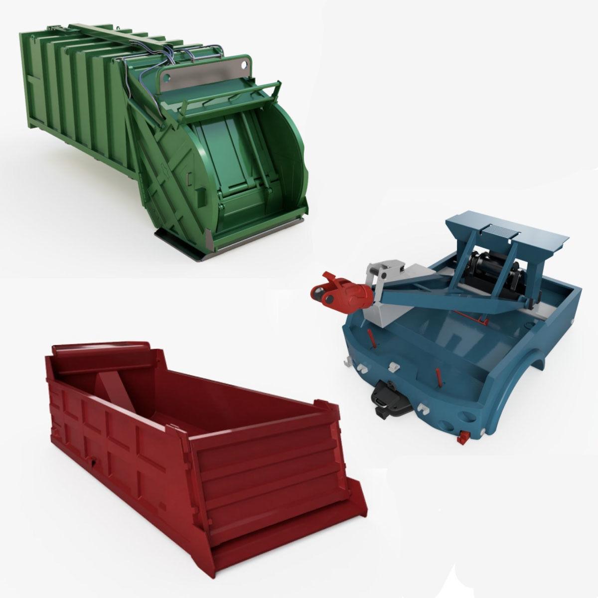 Industrial truck parts