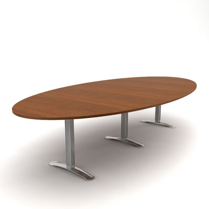 Oval Office Table 3D Model