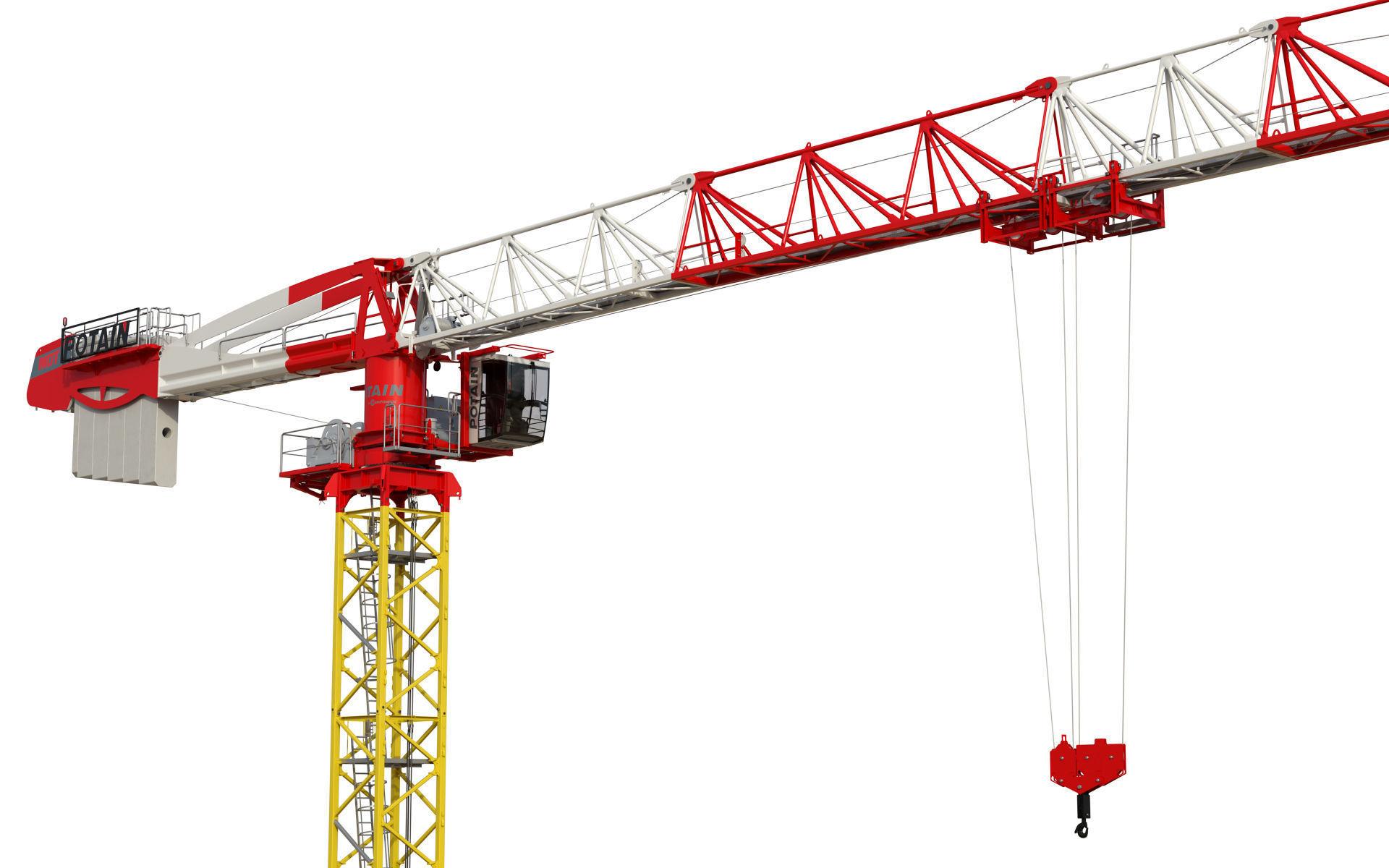 Tower Crane Potain MDT 269 J12