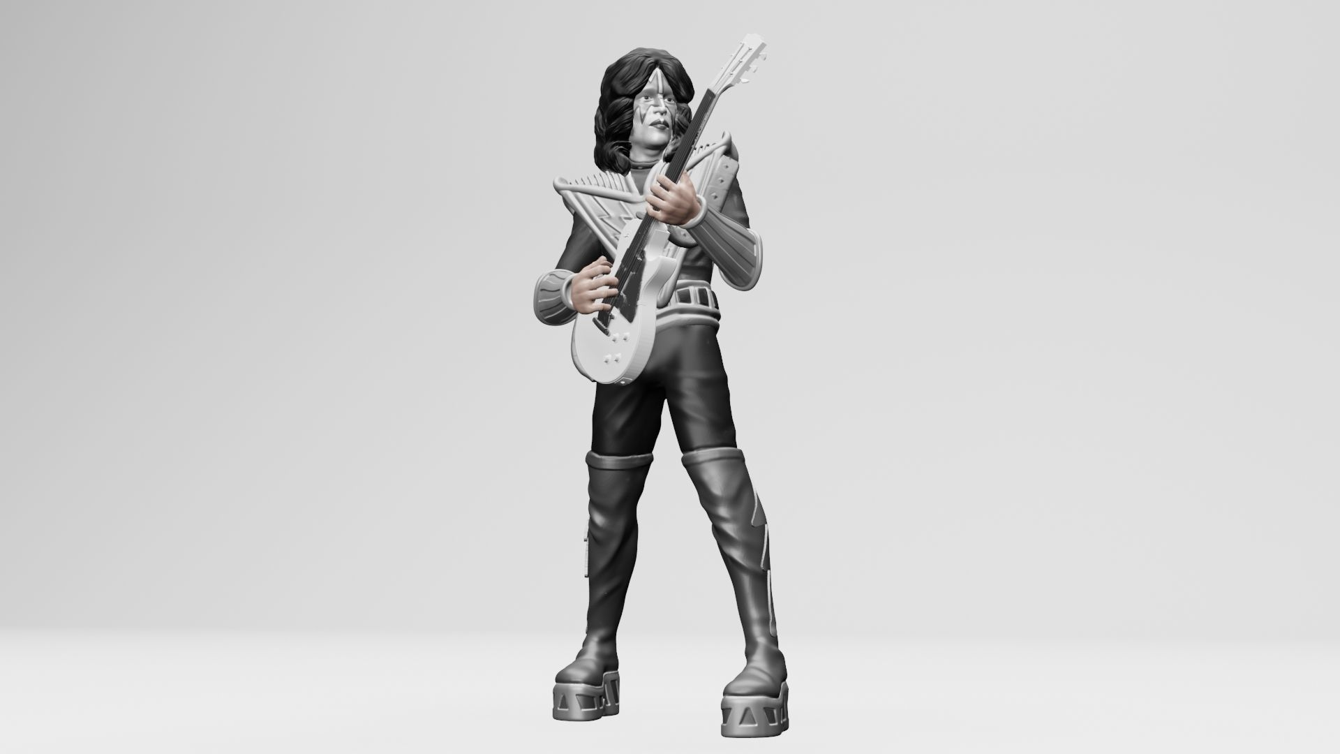 Tommy Thayer Kiss - 3Dprinting