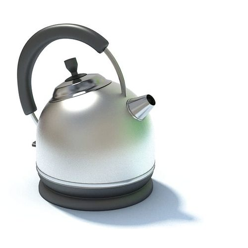 stainless steel tea kettle 3d model max 1