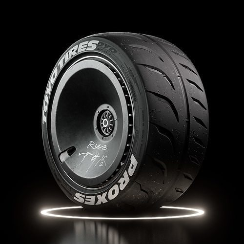 Toyo Proxes r888R Tire Gravel and Dusted Real World Details