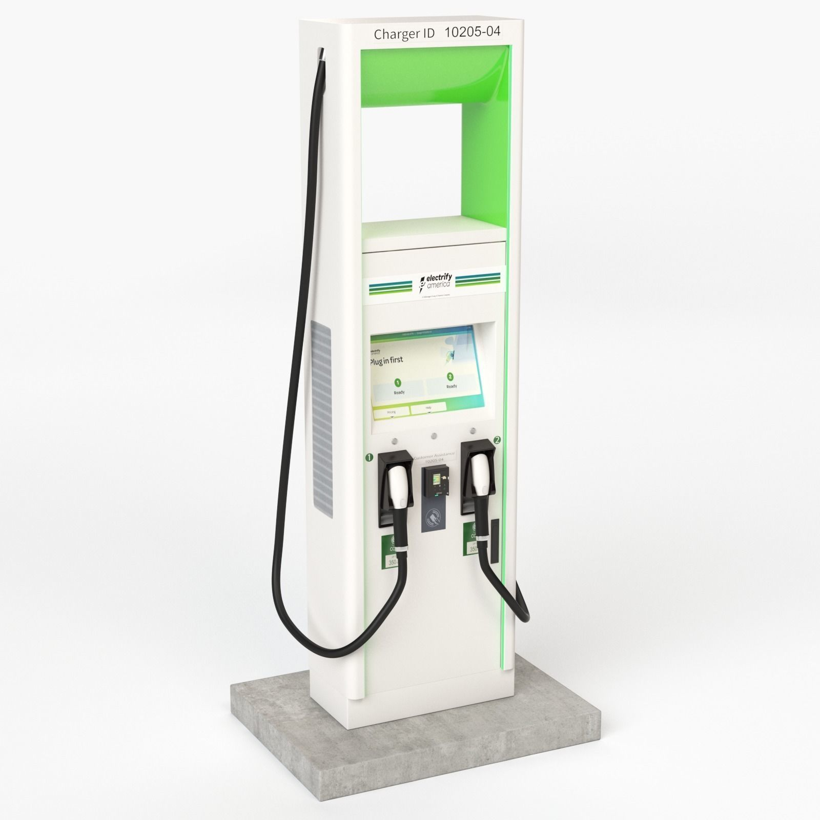 Electric Vehicle Charging Station Electrify America Part 2
