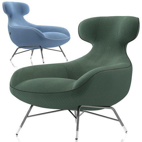 Roche Bobois Spoutnik Lounge Armchair