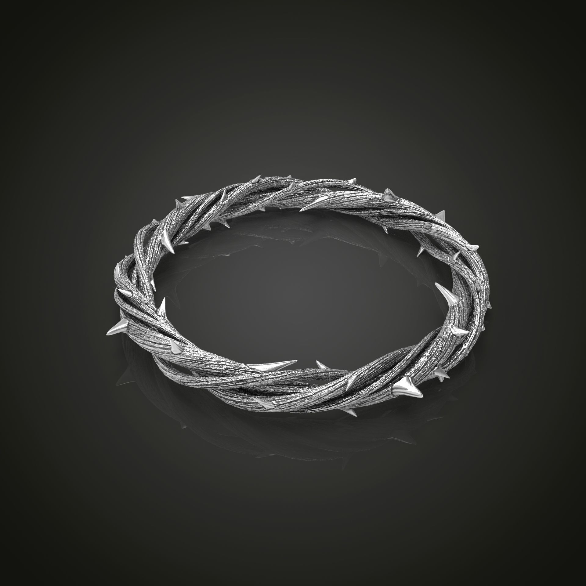 Crown of thorn 3d print model
