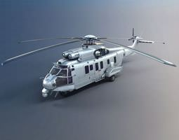 Army Helicopter 3D Model