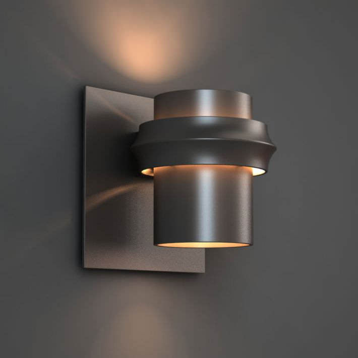 Wall Lamp Open From Both Ends 3D Model OBJ CGTrader.com