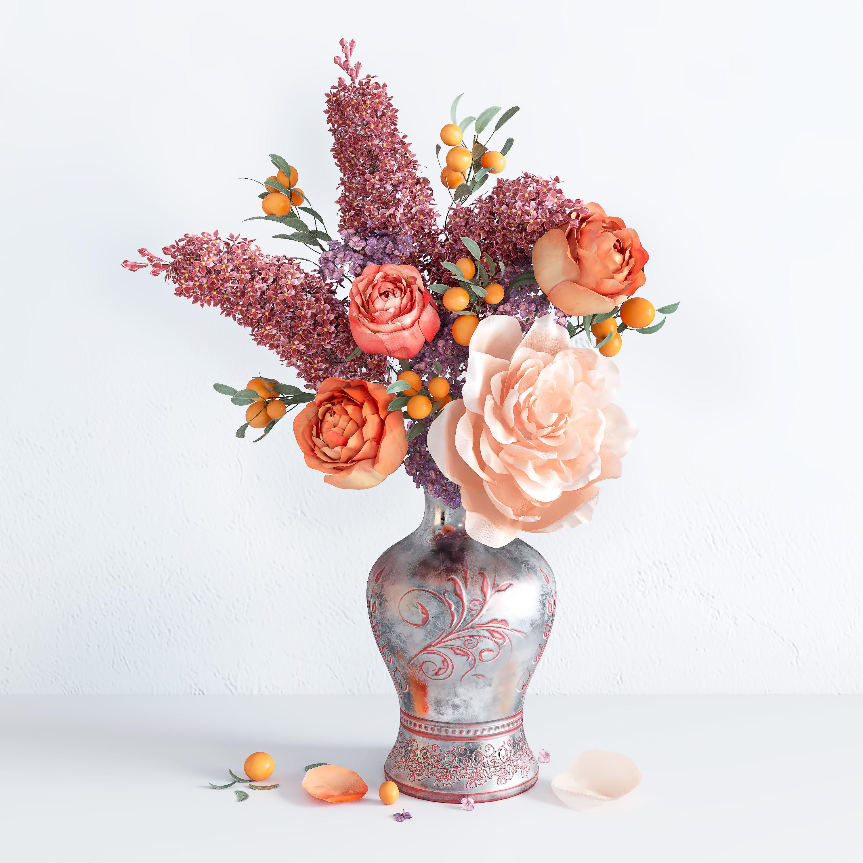 Spring Summer Bright Bouquet