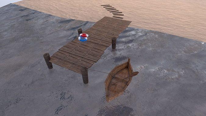 Low Poly  Port
