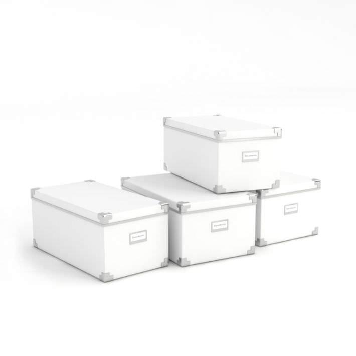 Original Office Star 22 Pencil Box Storage File Cabinet White HPBF11 File