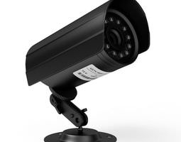 cctv cameras fitting at home 3d model