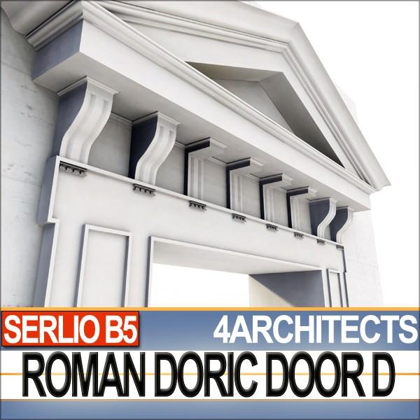 ... renaissance doric door d revit stl printable 3d model obj 3ds c4d dxf stl vue 2 ...  sc 1 st  CGTrader & Renaissance Doric Door D Revit STL Printable 3D model 3D printable ...