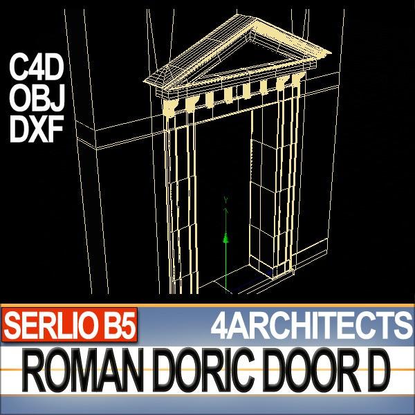 ... renaissance doric door d revit stl printable 3d model obj 3ds c4d dxf stl vue 7 ...  sc 1 st  CGTrader & Renaissance Doric Door D Revit STL Printable 3D model 3D printable ...