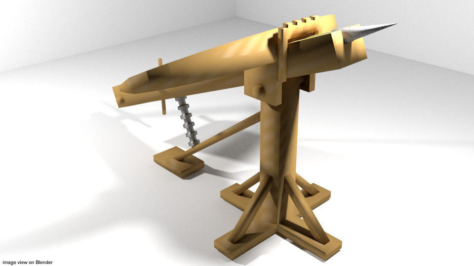 Medieval War Machine - Ballista