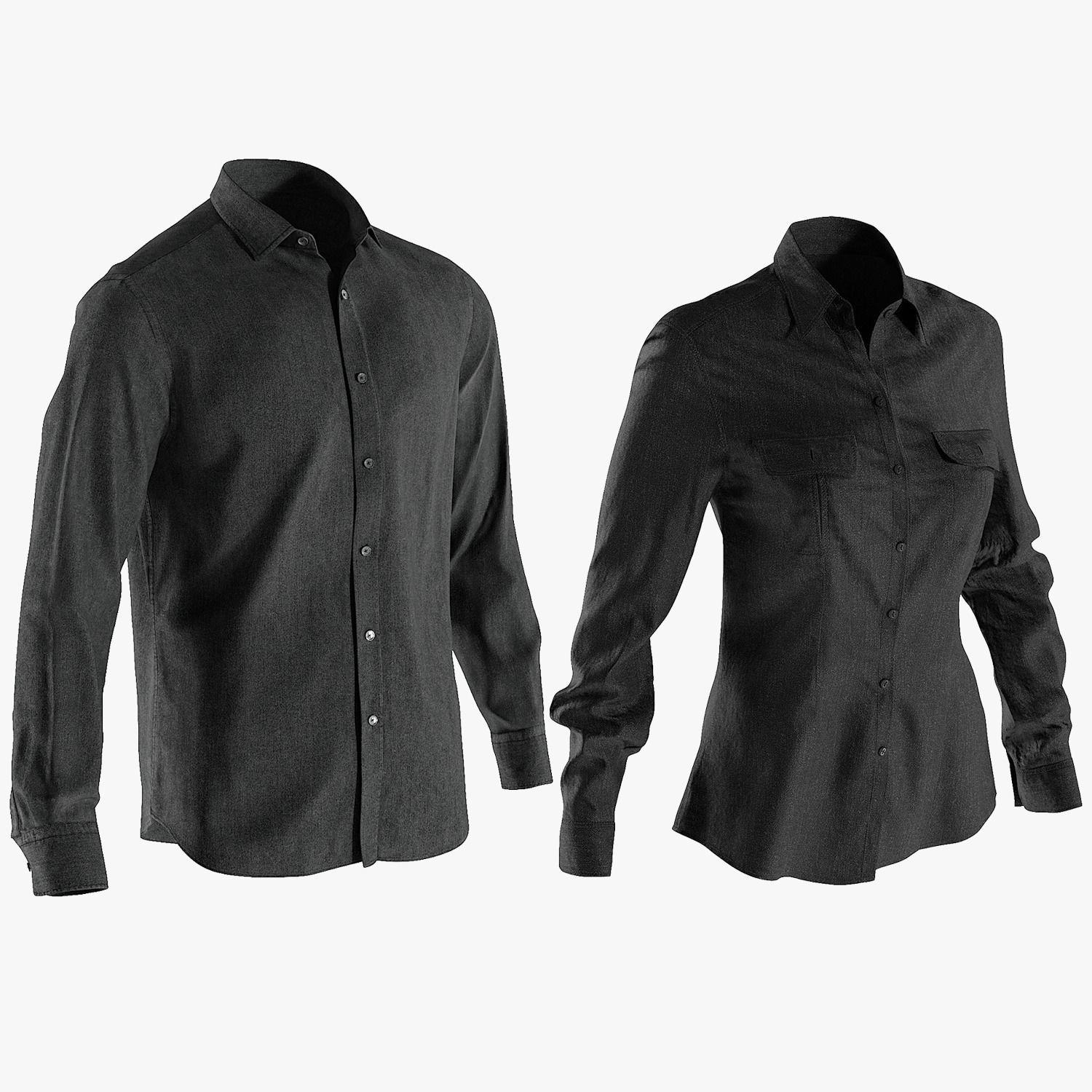 Mens and Womens Shirts Collection 1