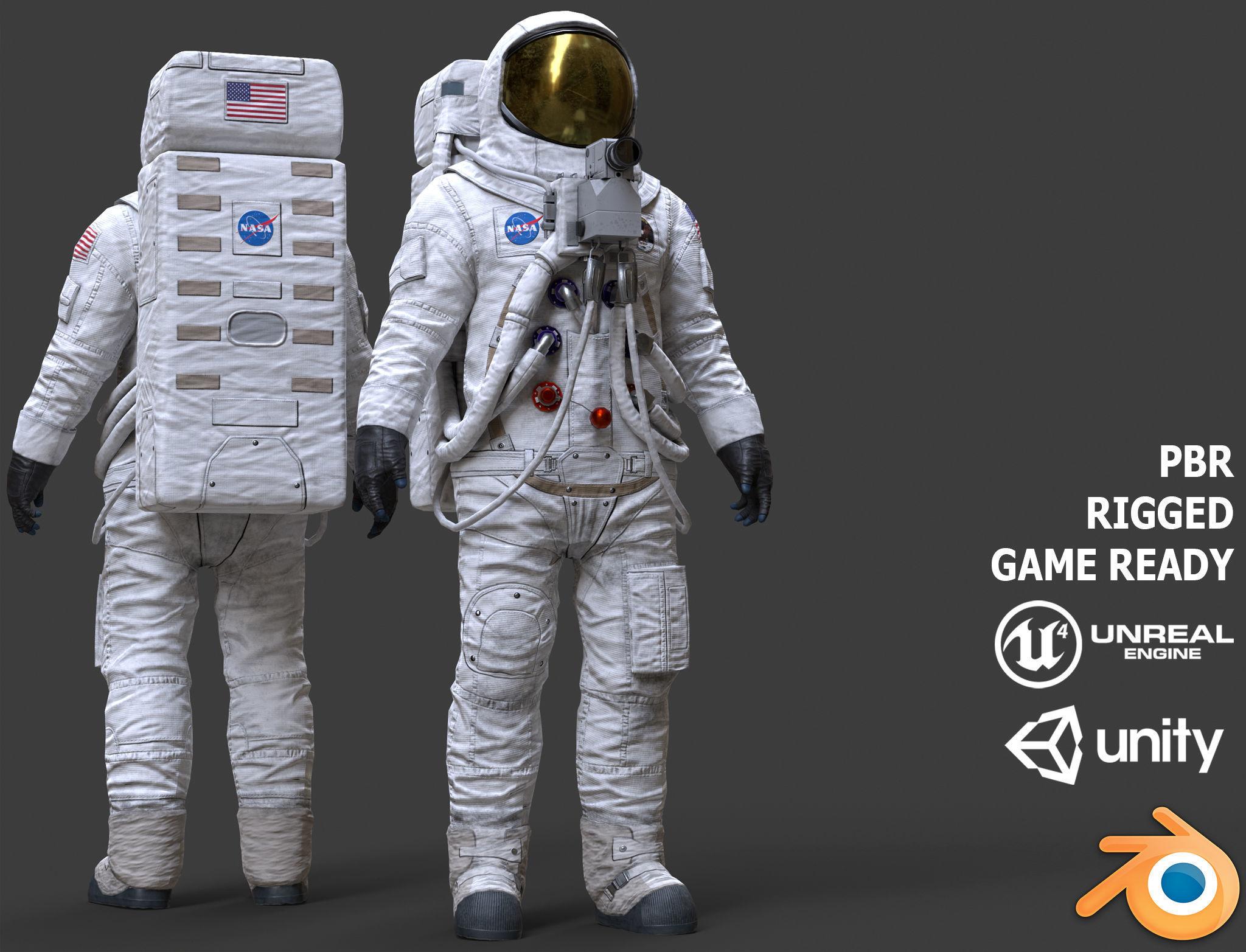CS03 Space Suit LITE VERSION