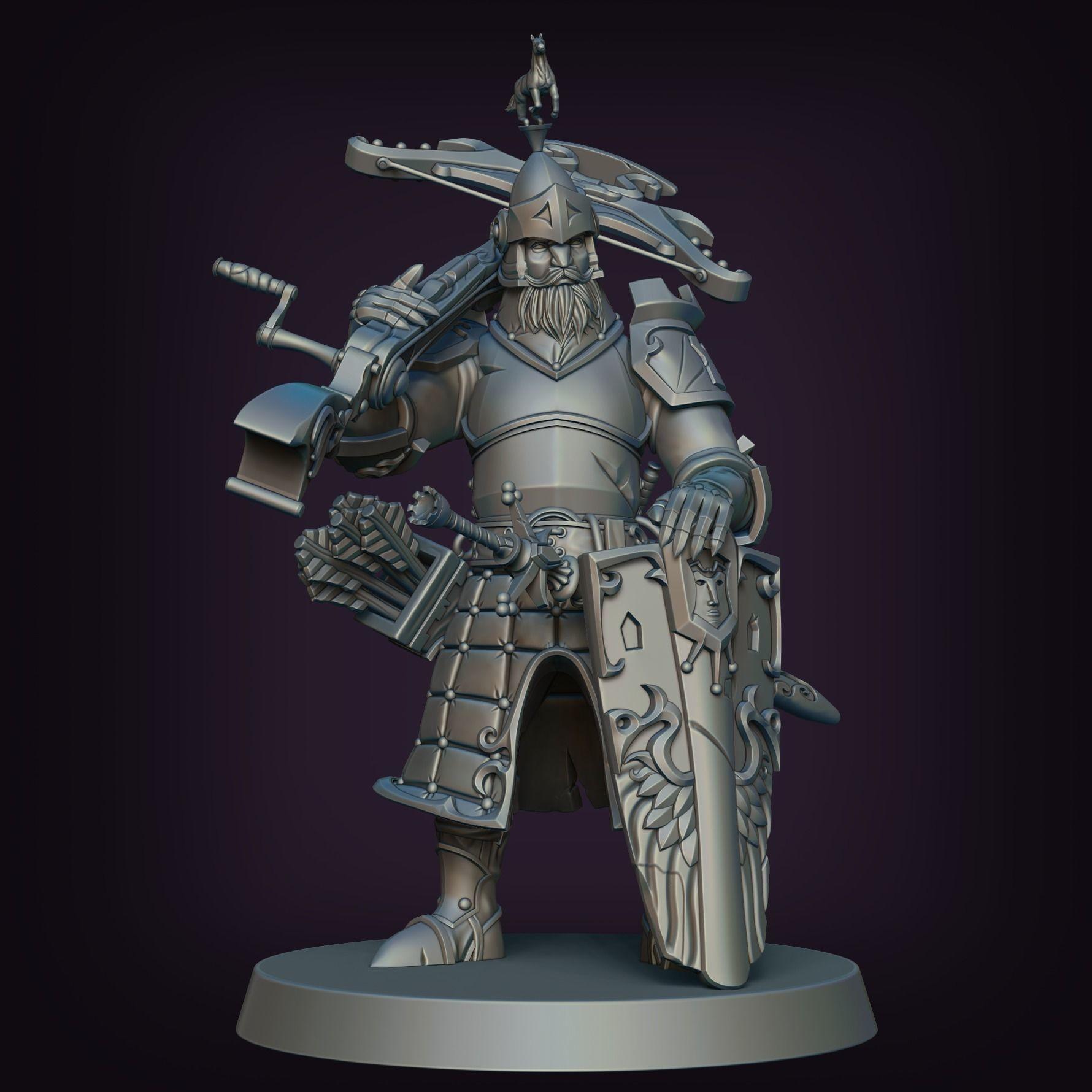Medieval Crossbowman