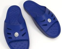 3D model Shower Slippers