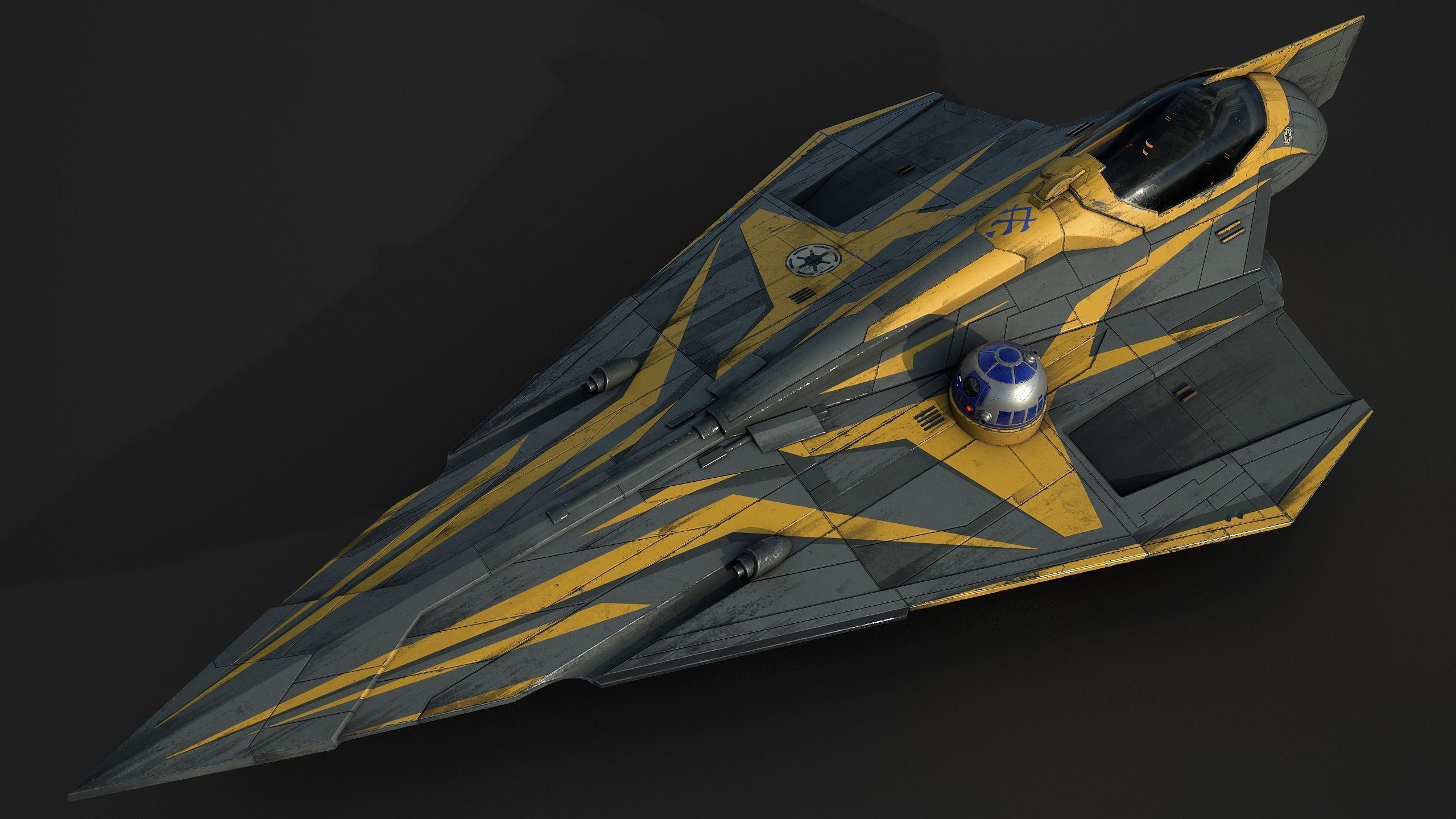 Star Wars Jedi Starfighter - Anakin Skywalker
