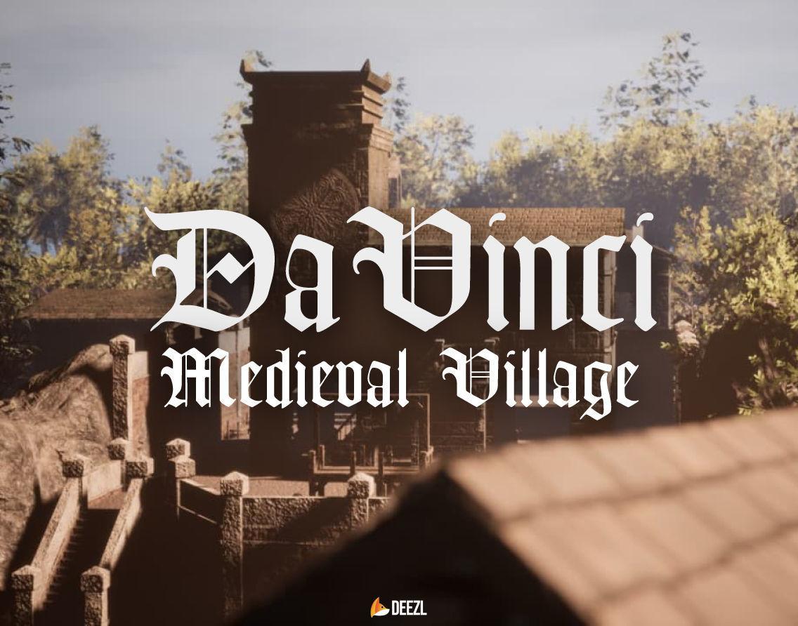 Da Vinci - Medieval Village - All Formats