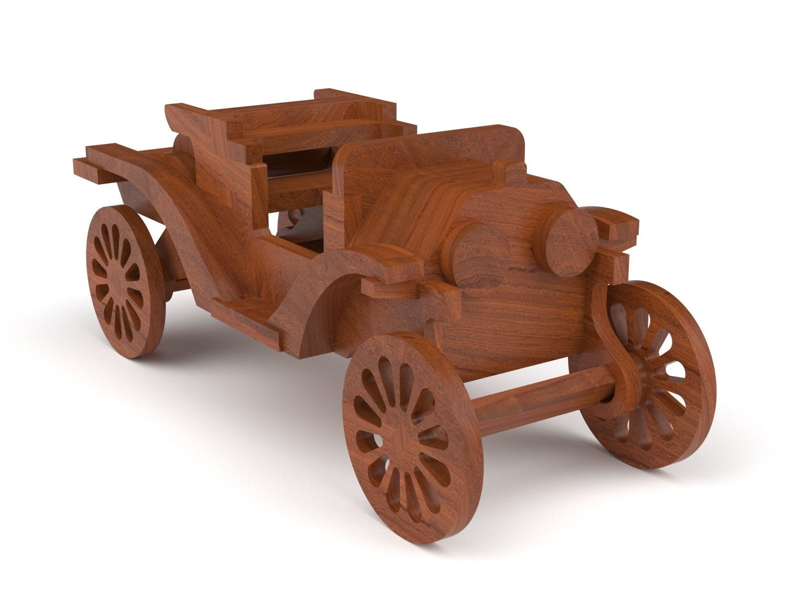 Wooden toy car 50