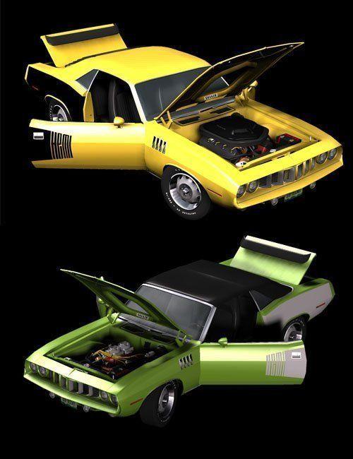 1971 AM Muscle Car 2n1