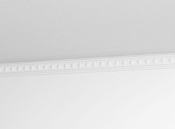 Crown molding decor 3d model for Advanced molding and decoration