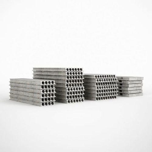 industrial concrete plates 3d model obj mtl 1