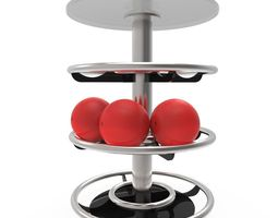 3d model bowling table